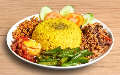 Voucher Value Worth Rp. 50.000 for Food Only