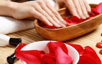 Gel Manicure + Express Pedicure for 1 Person
