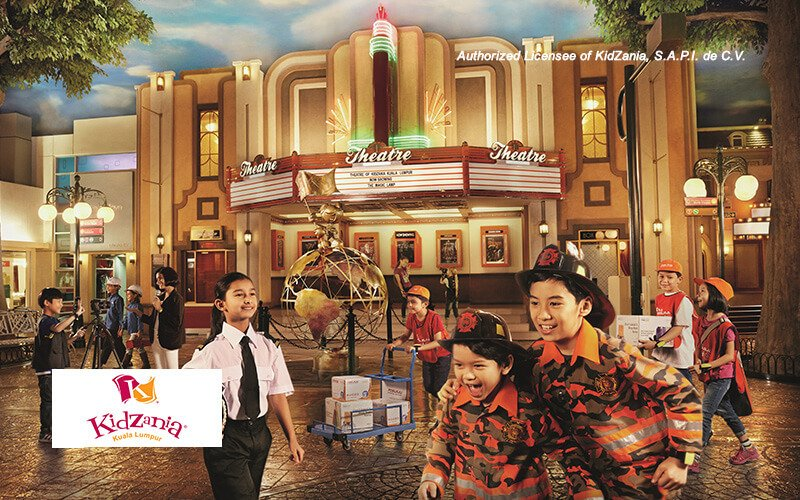 Admission for Two (2) Children and One (1) Adult to KidZania Kuala Lumpur