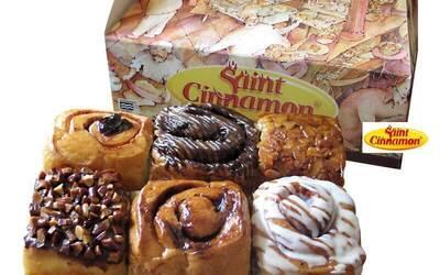 Dealivery 6 Pcs Cinnamon Roll
