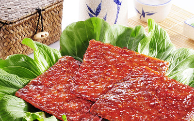 [CNY] Two (2) 400g Packs of Signature Pork Dried Meat with Free Delivery