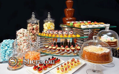 Weekend Afternoon Tea Buffet at Pavilions Lounge for 2 People