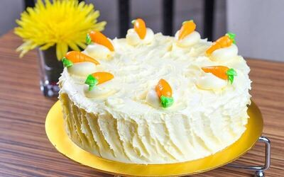 1.5kg Whole Carrot Cake