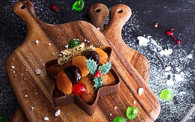 250g Christmas Fruitcake