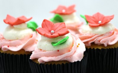 120-Min Cupcake Baking and Decoration Workshop for 4 People