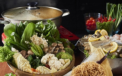 Hot Pot Buffet for 1 Person