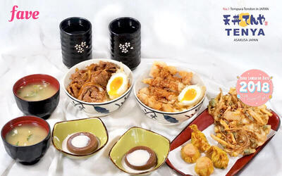 Tenya Fried Set for 2 Persons