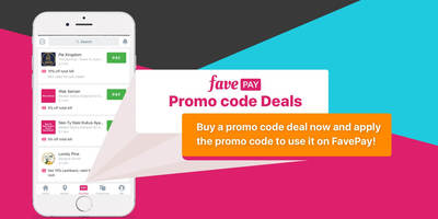 Fave pay promo code deal