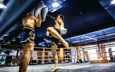 1-Hour 10-Minute Personal Muay Thai Training for 1 Person