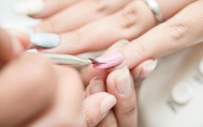 Manicure / Pedicure + Massage + Presto Japanese Nail Gel + Nail Art