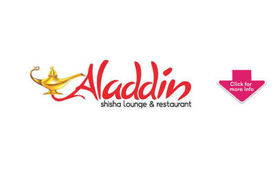 Promo Code for 15% Off Any FavePay Purchase at Aladdin Shisha Lounge and Restaurant (New FavePay User)