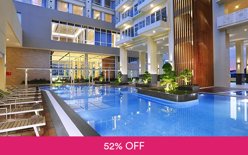 (Free and Easy) 2D1N Stay in Aston Hotel Batam + Return Ferry for 1 Person