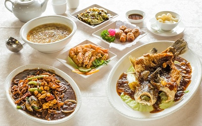 7-Course Fuzhou Chinese Set Meal for 6 People