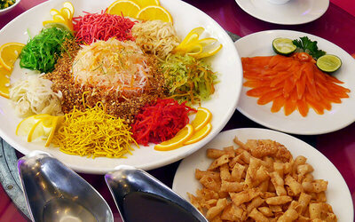 [CNY] Chinese New Year Eve and Valentine's Day Dinner Buffet for 1 Person