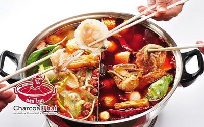 Steamboat Dinner Buffet with Chilli Crabs for 1 Person