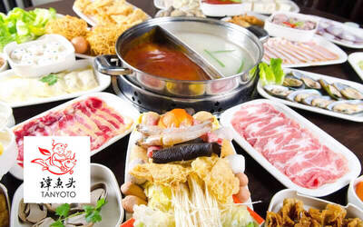 Sichuan-Style Steamboat Buffet for 2 People