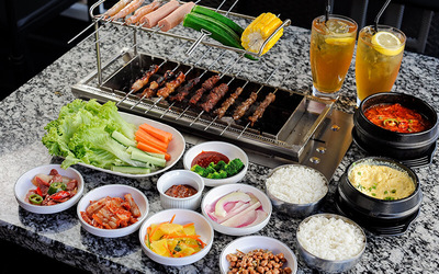 Korean BBQ Set for 2–3 People