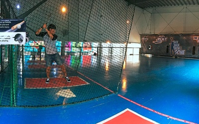 30 Tokens for Automated Indoor Baseball Batting Cage