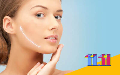 [11.11 Sale] 1.5-Hour V-Shape Face Therapy