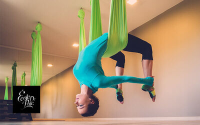 1-Hour Beginners Hoop / Aerial Silk Class for 1 Person (3 Classes)