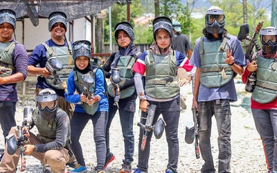 Paintball with Equipment Rental for 1 Person