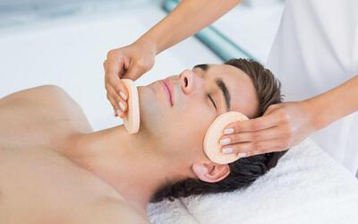 1.5-Hr Men's Sebum Control Facial for 1 Person