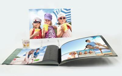 (Free WM Delivery) Cheap n Chic Softcover 8.5˝ x 12˝ Landscape (40 pages)