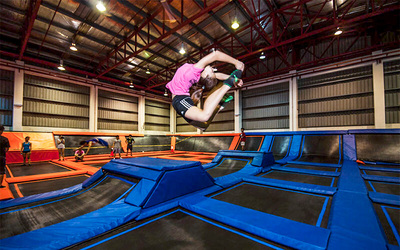[CNY] Four (4) Sessions for Unlimited Jumping for 1 Person