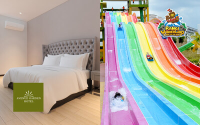 Bangi: Deluxe King with Breakfast + Admission to Bangi Wonderland Themepark & Resort for 2 People