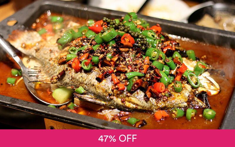 One 1 Whole Jiang Hu Grilled Fish With Sichuan Spices Geylang Singapore Best Deals Near