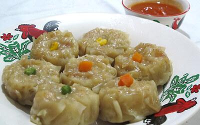 Siomay isi Udang Ayam 2 pax (isi 8)