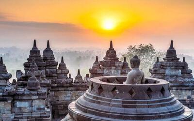 Semarang: 4D3N Gedong Songo, Prambanan, and Mount Merapi Tour + Hotel Stay for 1 Person