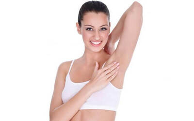 Waxing Under Arms